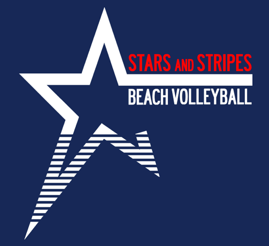 Stars and Stripes Volleyball
